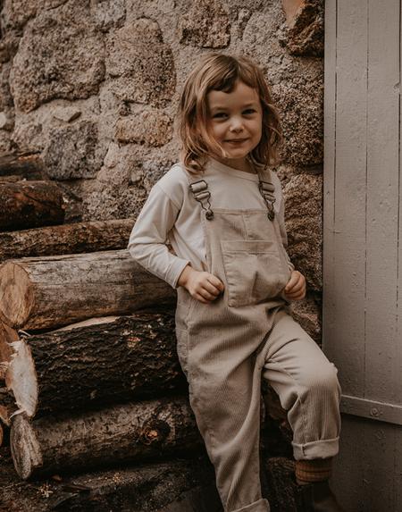Latzhose Kids Oatmeal von The Simple Folk