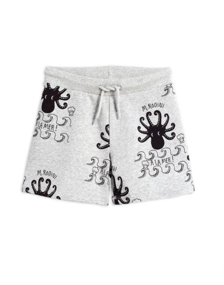 Shorts Kids Octopus Grau von Mini Rodini