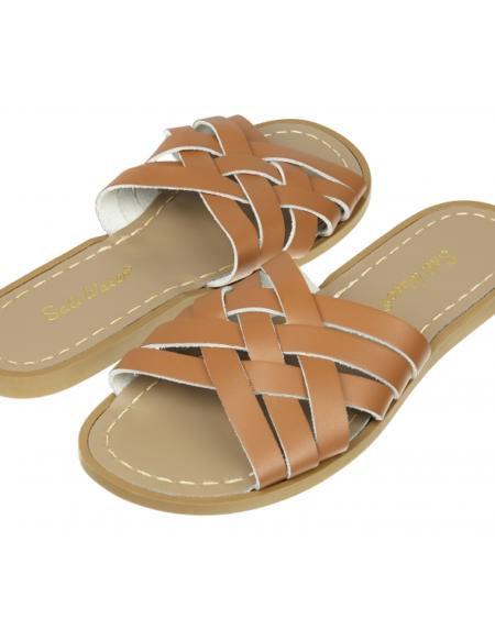 Retro Slide Adult Tan von Salt Water Sandalen