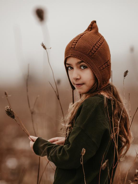 Strickmütze Gnome Mocha von The Simple Folk