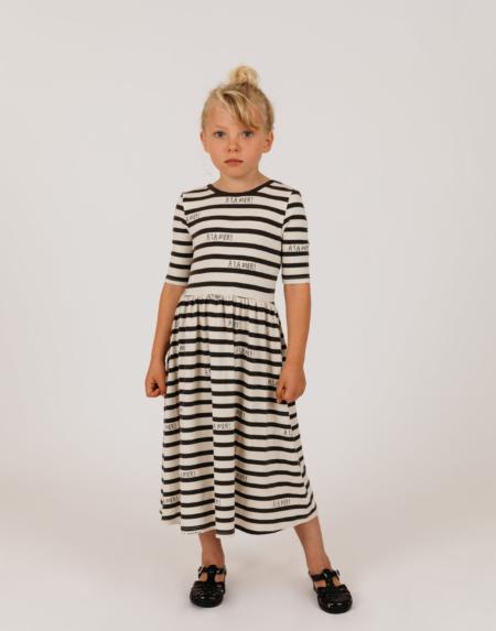 Kleid Kids A La Mer Off-White von Mini Rodini