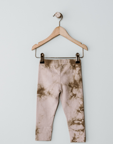 Leggings Tie-Dye Rose von The Simple Folk