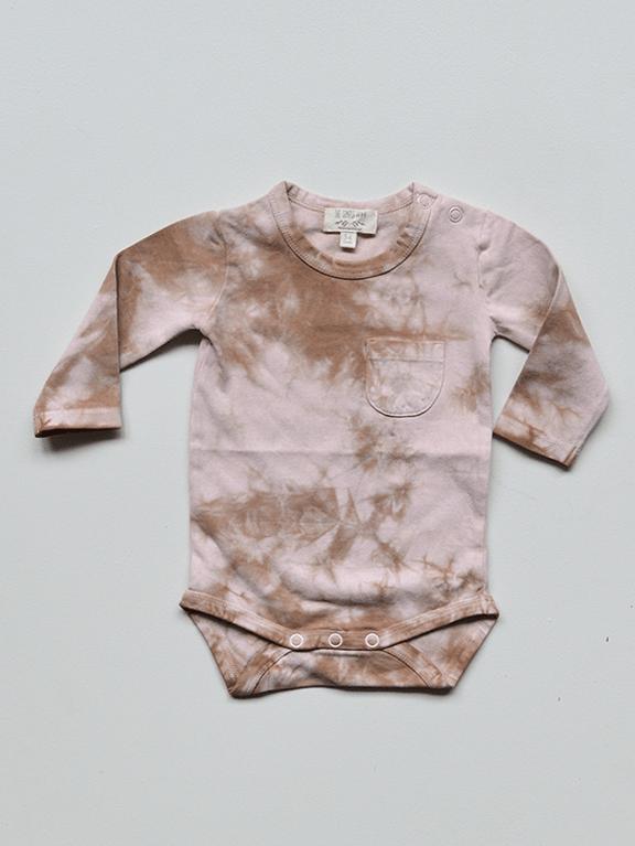 Body Baby Tie-Dye Rose von The Simple Folk