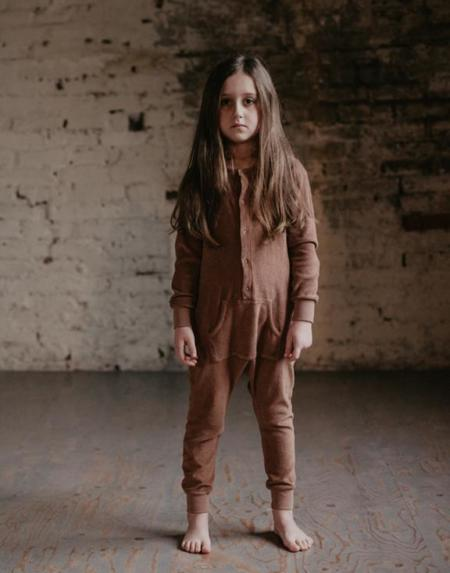 Jumpsuit Terry Cinnamon von The Simple Folk