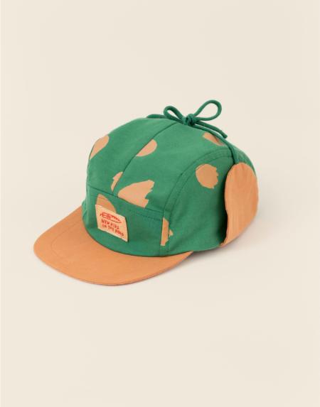 Sonnenhut Baby Wolly Confetti Green von New Kids In the Hood
