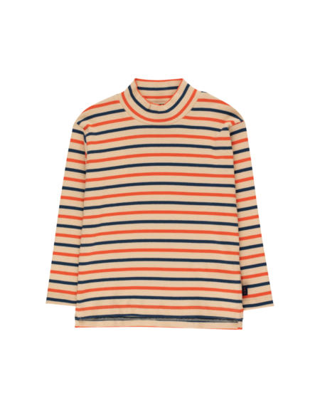 Shirt Kids Stripes Cappucino von Tinycottons