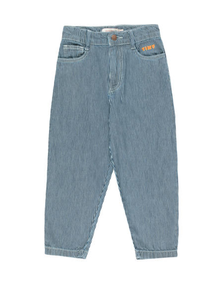 Hose Kids Baggy Stripes Denim von Tinycottons
