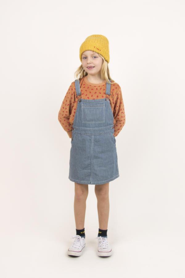 Kleid Kids Stripes Denim von Tinycottons