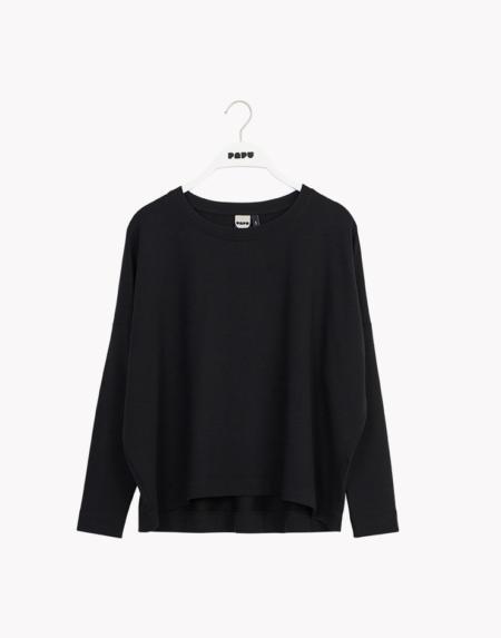 Shirt Adultes Lyocell Black von Papu
