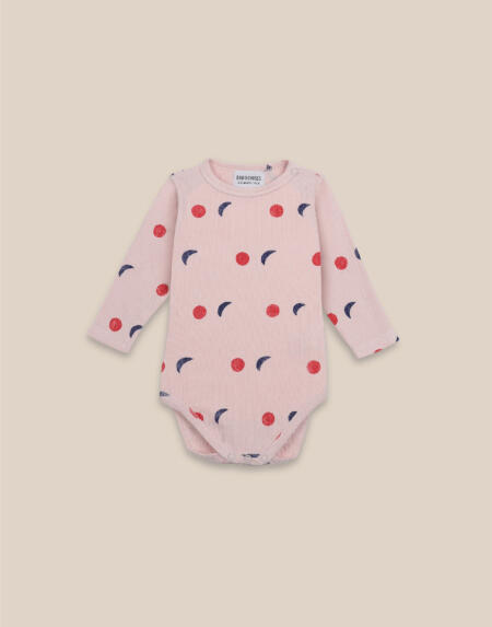 Longsleeve Body Baby Night All Over von Bobo Choses
