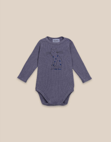 Body Baby Cat Longsleeve von Bobo Choses