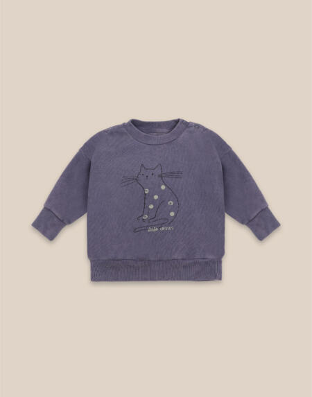 Pullover Baby Cat von Bobo Choses