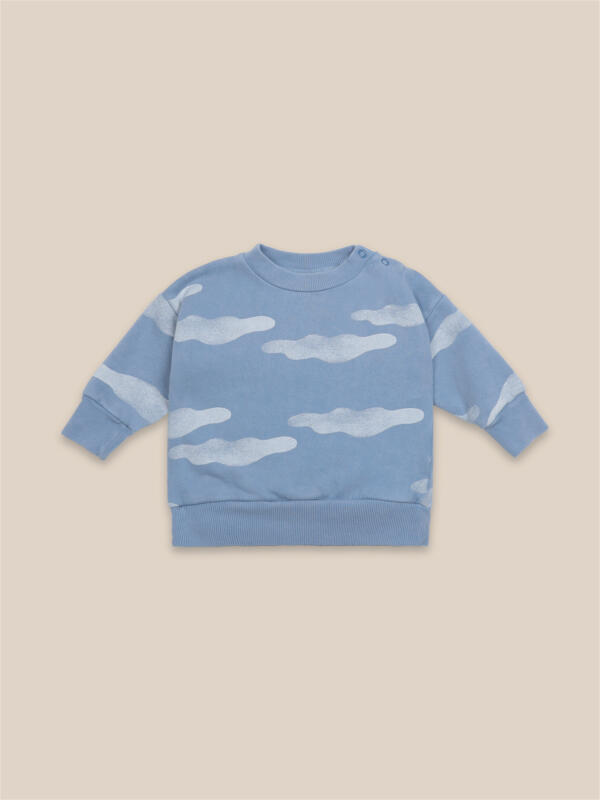 Pullover Baby Clouds All Over von Bobo Choses