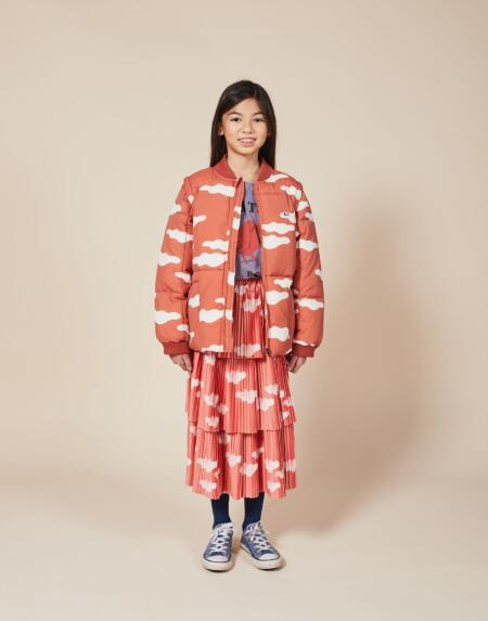 Winterjacke/Gilet Kids Clouds All Over von Bobo Choses
