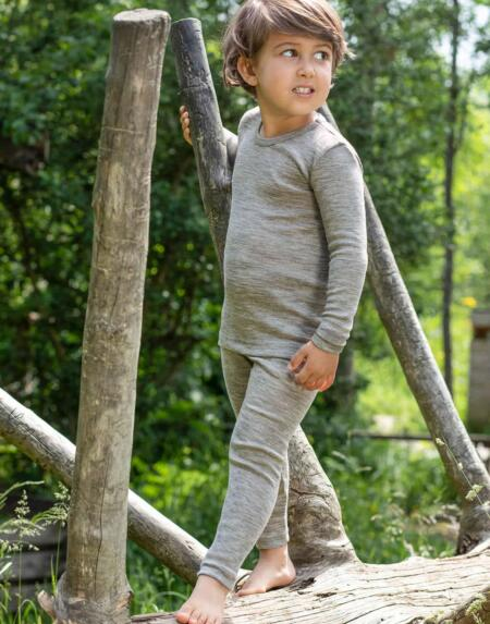 Leggings Kids Hellgrau von Engel Natur