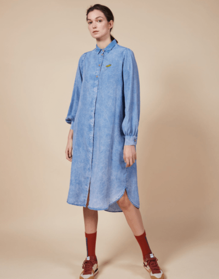Columns Shirt Dress von Bobo Choses