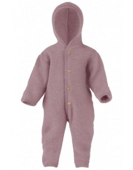 Overall Wollfleece Baby Rosenholz von Engel Natur