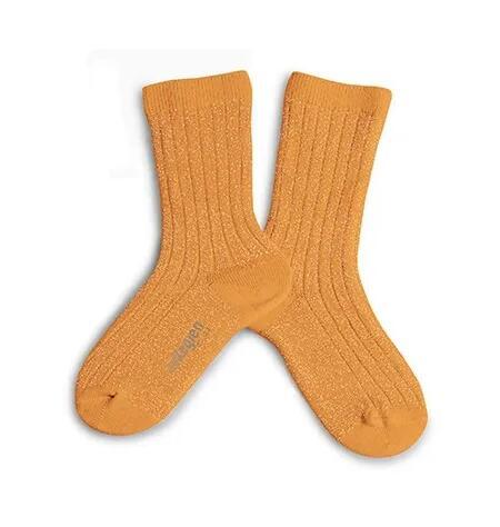 Glitzer Socken Nectarine von Collégien