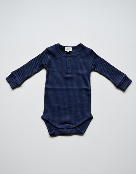 Ribbed Body Baby Indigo von The Simple Folk