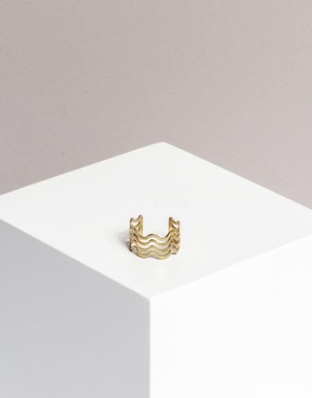 Ring Triple Wave von Yoomee