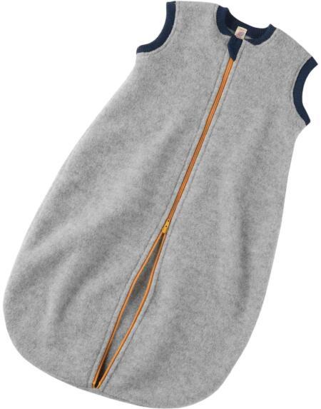 Schlafsack Wollfleece Baby Hellgrau von Engel Natur