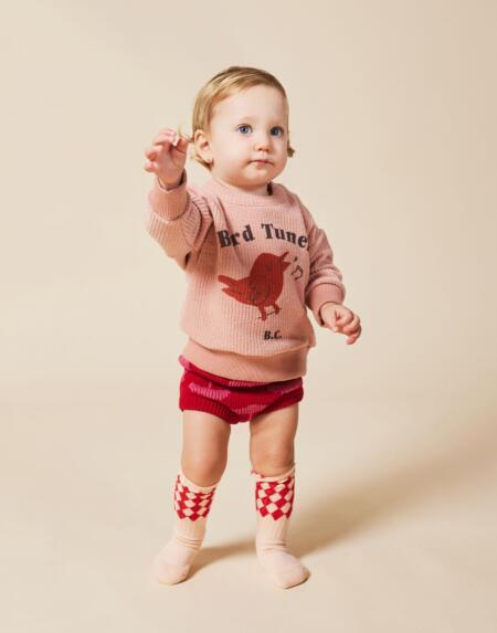 Pullover Baby Bird Tuner Terry Towel von Bobo Choses