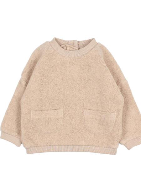 Pullover Baby Neil Sand von Buho