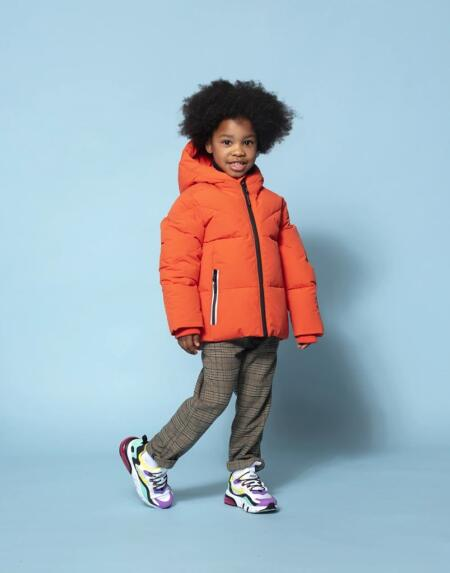 Winterjacke Kids Working Weasel Spicy Red von Go Soaky