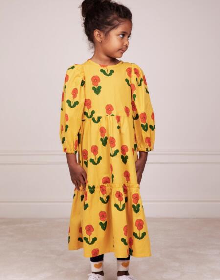 Kleid Kids Violas Gelb von Mini Rodini