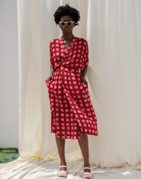Kleid Sampha in Queen Me von Osei Duro