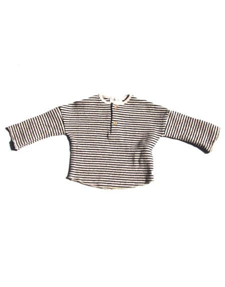 Pulli Baby Cyril Natural/Black von Buho