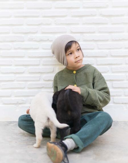 Kindermütze Merino Red von Wil