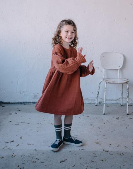 Kleid Kids Estelle Argile von Buho