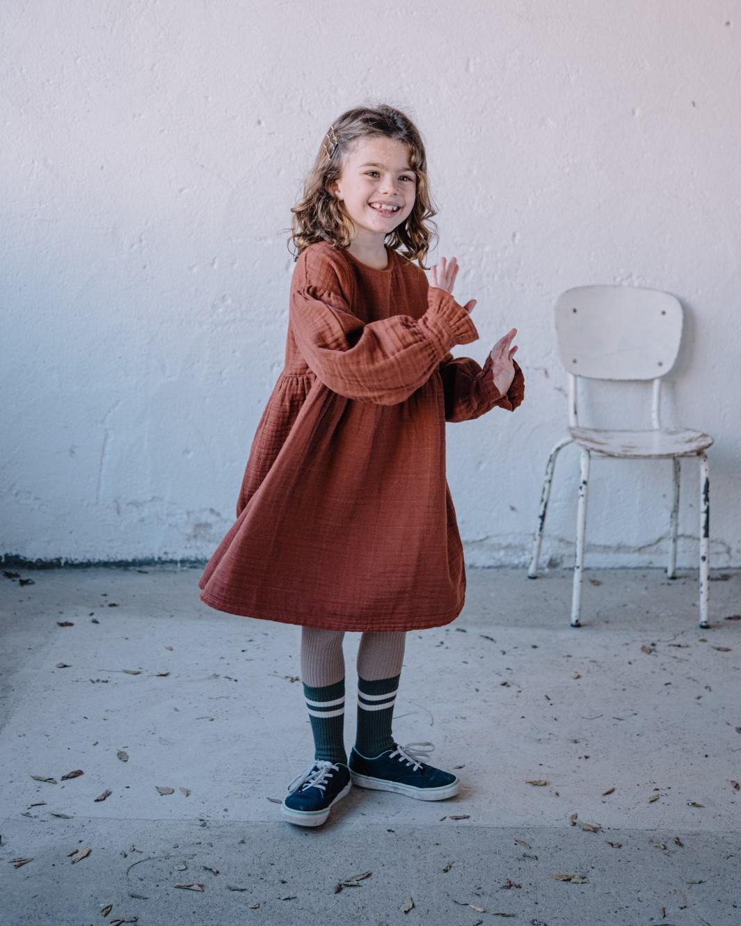 kleid kids estelle argile