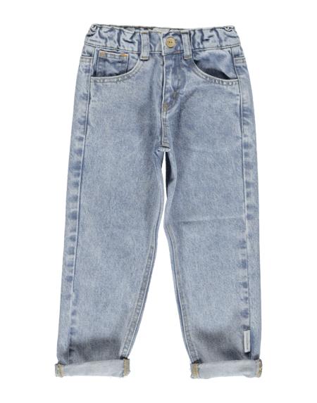 Jeans Kids Mum Fit Washed Light Denim von PiuPiuchick