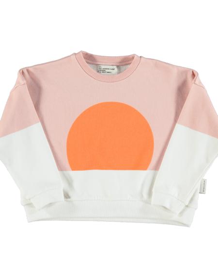 Pullover Kids Orange Sun von PiuPiuchick