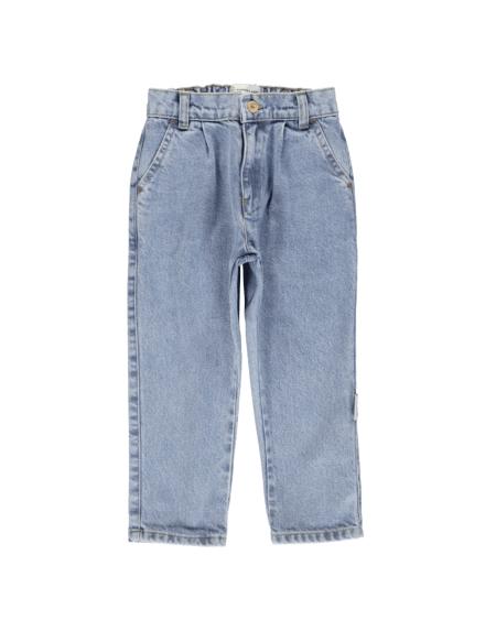 Jeans Kids Washed Light Blue Denim von PiuPiuchick