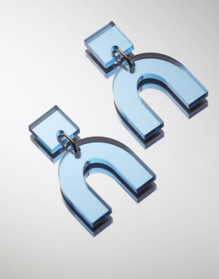 Daniela Light Blue Mirror von Vanto