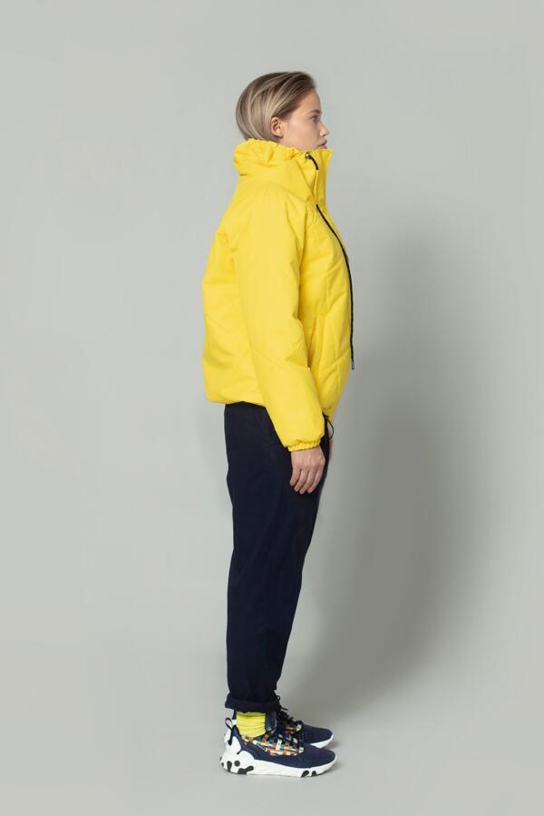 Winterjacke Adult Clear Ice Cyber Yellow von Gofranck
