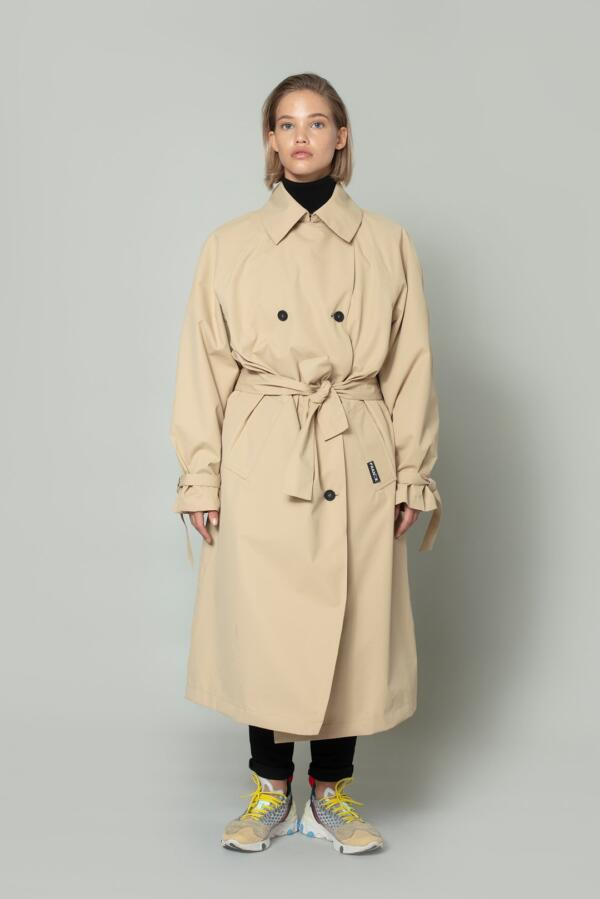 Trenchcoat Gale Waterproof Candied Ginger von Franck