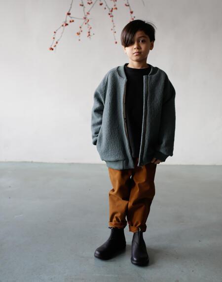 Jacke Kids Silver Pine Bomber von Monkind