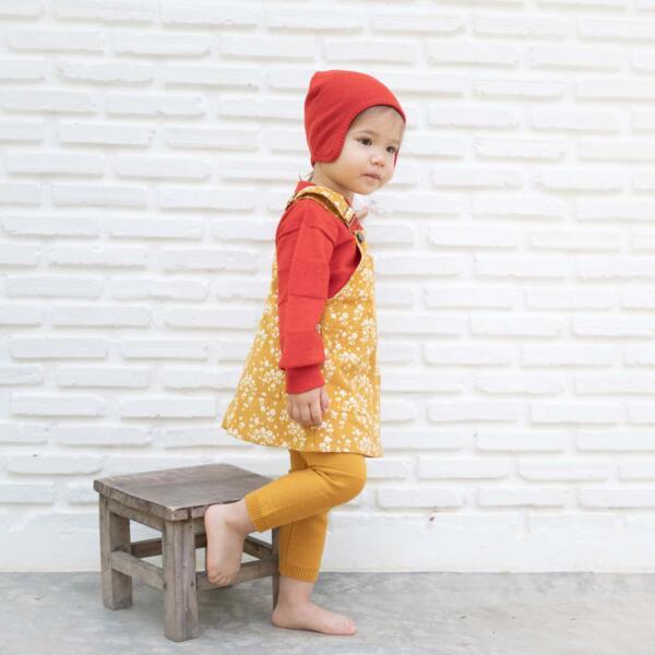 Latzkleid Kids Honigblume von Wil