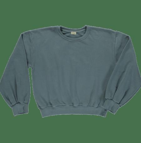 Sweatshirt Cedrat Madame Stormy Weather von Poudre Organic