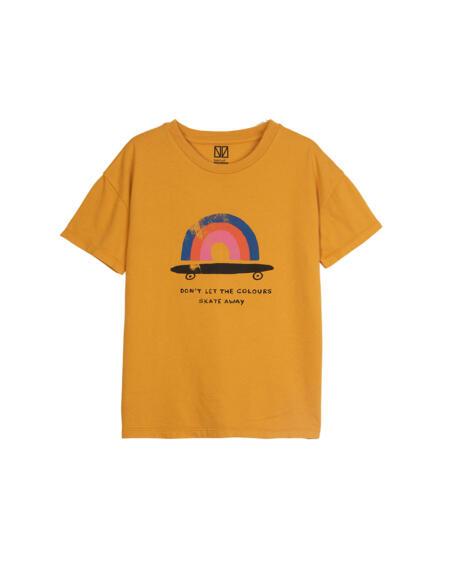 T-Shirt Kids Rainbow Citrus von Barn of Monkeys