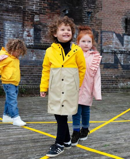 Regenparka 3 in 1 Kids Reservoir Dogs Spectra Yellow von Go Soaky