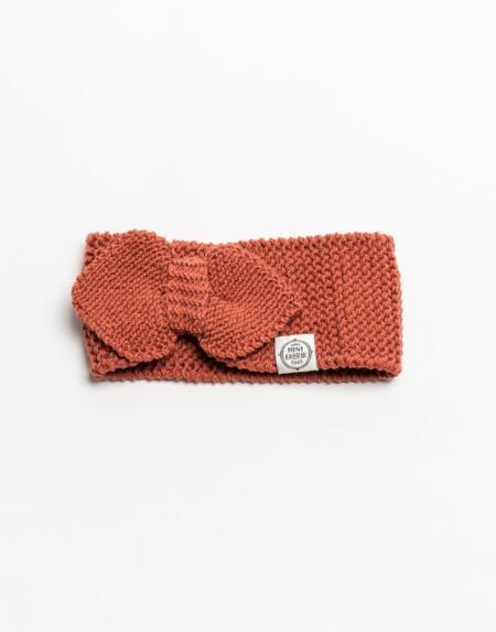 Stirnband Merino Terracotta von Mini Fabrik