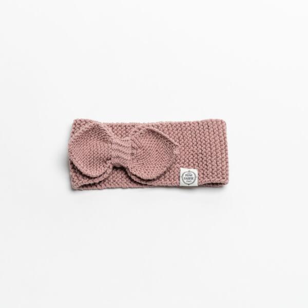 Stirnband Merino Puder von Mini Fabrik
