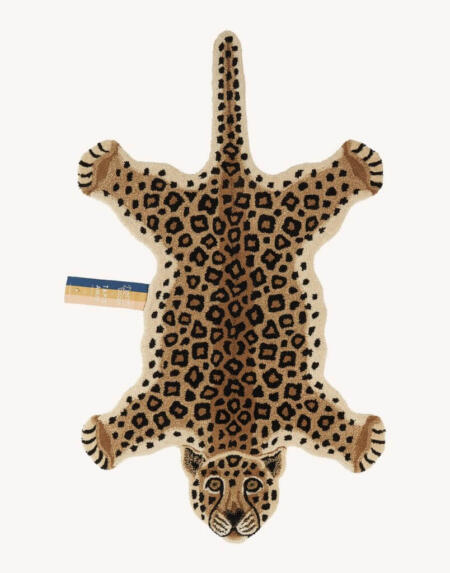 Teppich Loony Leopard Large von Doing Goods
