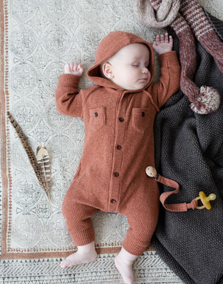 Jumpsuit Baby Marmolada Toffee von 1+ in the Family