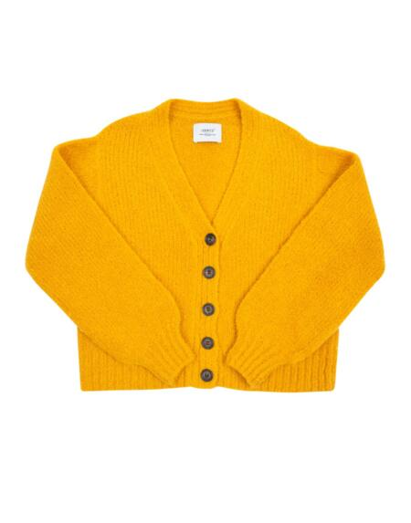 Cardigan Stylish Steffie Inca Yellow von LN Knits